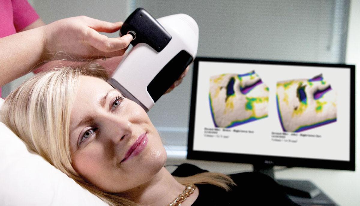 Аппараты для трехмерной визуализации, оборудование для визуализации поверхности кожи