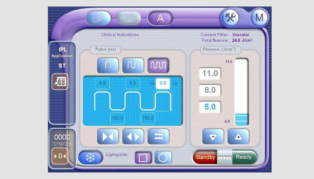 Продвинутая Технология Оптимального Импульса (AOPT). Купить оборудование с продвинутой технологией оптимального импульса (AOPT) - M22 в Premium Aesthetics