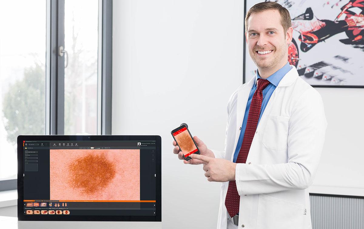 Почему FotoFinder – уникальное решение для дерматоскопии?