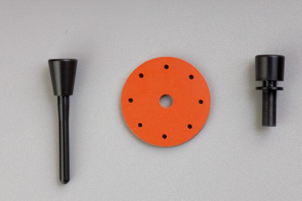 130-0116 Приспособление для защиты кожи с оранжевыми дисками упак из 4 шт
