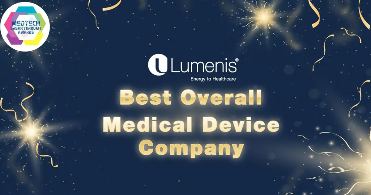 Lumenis названа лучшей компанией по производству медицинского оборудования