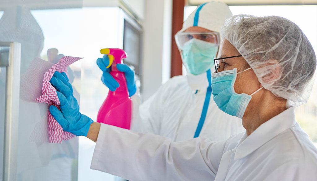 Профилактика коронавирусной инфекции в медицинском центре